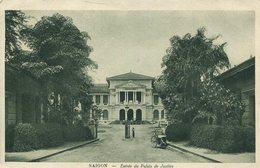 004033  Saigon - Entrée Du Palais De Justice  1932 - Vietnam