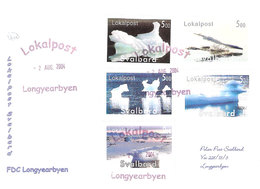 Norway 2004 Localpost- Svalbard - FDC  2. Aug 2004 Longyearbyen - Norway