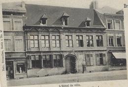 Braine Le Comte.  -   L'Hôtel De Ville.   -   1905   Naar  Hainaut - Braine-le-Comte