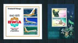 Trinidad Y Tobago  Nº Yvert  HB-13/14  En Nuevo - Trinidad Y Tobago (1962-...)