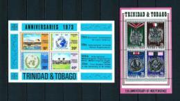 Trinidad Y Tobago  Nº Yvert  HB-7/8  En Nuevo - Trinidad Y Tobago (1962-...)