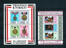 Trinidad Y Tobago  Nº Yvert  HB-5/6  En Nuevo - Trinidad Y Tobago (1962-...)