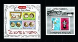 Trinidad Y Tobago  Nº Yvert  HB-15/16  En Nuevo - Trinidad Y Tobago (1962-...)