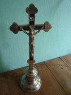Kruzifix Vernickelt - Religion &  Esoterik
