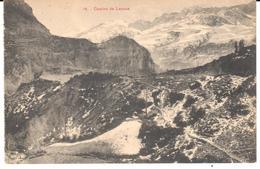 POSTAL   JACA  -HUESCA  - CAMINO DE LANUZA - España