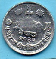 (r65) NEPAL  1 PAISA  2031 ( 1974 )  KM#799 - Népal