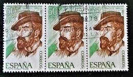 FRANCISCO TARREGA 1977 - BANDE OBLITEREE - YT 2040 - MI 2287 - 1931-Hoy: 2ª República - ... Juan Carlos I