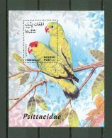 Afghanistan A39 MNH 1999 S/s Birds Parrot - Afghanistan