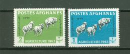 Afghanistan A59 MNH 2v Agriculture Farm Animals Sheep - Afghanistan