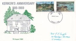 New Zealand 1969 Kerikeri's Anniversary FDC - Bay Of Islands - - FDC