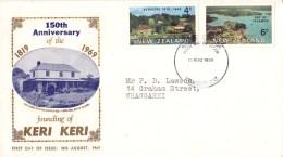 New Zealand 1969 Kerikeri's Anniversary FDC - Bay Of Islands - - - FDC