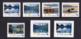 New Zealand 2010 Landscapes - Scenic Definitives Set Of 5 + Self-adhesives MNH - New Zealand