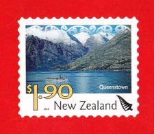 New Zealand 2010 Landscapes - Queenstown $9.50 Mint Self-adhesive Booklet - Booklets