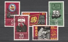 DDR  Us  1966  Mi1173-77    Vedi  Foto ! - [6] République Démocratique