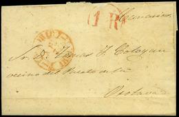 14 1851. Cda De Madrid A Puerto De Orotava (Canarias) - Spain