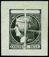 29 Año 1852 PRUEBA De Punzón - 1850-68 Kingdom: Isabella II