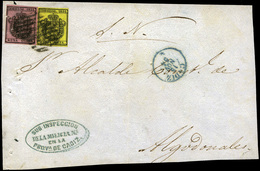 50 Ed. 28+29 - Plica De Cádiz A Algodonales - 1850-68 Kingdom: Isabella II