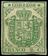 52 Ed. ** 32 - 1850-68 Kingdom: Isabella II