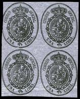 54 Ed. *** 35/8 Bl. 4 - 1850-68 Kingdom: Isabella II