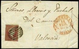 57 Ed. 40 Cda De Sigüenza A Valencia - 1850-68 Kingdom: Isabella II