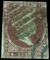 59 Ed. 0 40F - 1850-68 Kingdom: Isabella II