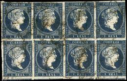 62 Ed. 0 41a Bl.8 - 1850-68 Kingdom: Isabella II