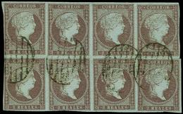 63 Ed. 0 42 Bl.8 - 1850-68 Kingdom: Isabella II