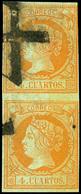 77 Ed. 0 52 Pareja - 1850-68 Kingdom: Isabella II