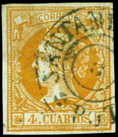 78 Ed. 0 52 - 1850-68 Kingdom: Isabella II