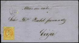 """82 Ed. 52 Cda De Priego (Córdoba) A Écija. Manuscrito """"Muestras Sin Valor"""". - 1850-68 Kingdom: Isabella II"""