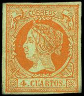 88 Ed. * 52F - 1850-68 Kingdom: Isabella II