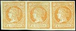89 Ed. * 52F Tira 3 - 1850-68 Kingdom: Isabella II
