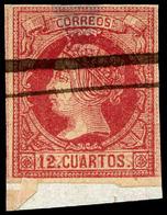96 Ed. 0 53ed - 1850-68 Kingdom: Isabella II