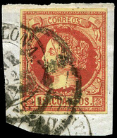 97 Ed. 53F Falso Postal. Tipo único. Marquillado - 1850-68 Kingdom: Isabella II