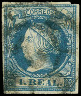 99 Ed. 0 55F - 1850-68 Kingdom: Isabella II
