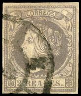 100 Ed. 0 56F - 1850-68 Kingdom: Isabella II