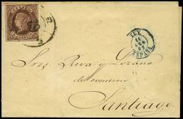 """104 Ed. 58 Cda Con Mat. R.C. """"62-Tuy"""" Lujo. - 1850-68 Kingdom: Isabella II"""