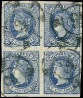 114 Ed. 0 63 Bl. 4 - 1850-68 Kingdom: Isabella II