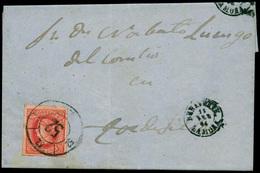 """115 Ed. 64 Cda Con Mat. R.C. """"52-Benavente"""" - 1850-68 Kingdom: Isabella II"""