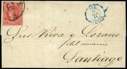 """116 Ed. 64 Cda Con Mat. R.C. """"62-Tuy"""" Lujo. - 1850-68 Kingdom: Isabella II"""
