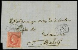 """117 Ed. 64 Cda Con Mat. R.C. """"62-Tuy"""" Lujo. - 1850-68 Kingdom: Isabella II"""