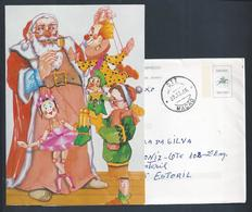 Letter Stationery And Christmas Card Post Office Museum 1986. Briefpapier Und Weihnachtskarte Aus Dem Postmuseum. Mação - Noël