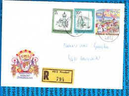 Austria Einschreiben Couvert 4812 Pinsdorf 794 - Entiers Postaux