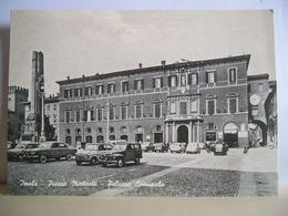 1962 - Imola - Piazza Matteotti E Palazzo Comunale - Animata - Bar Alemagna - Auto D'epoca - Torre Con Orologio - Imola