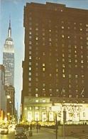 CP Etats-Unis NY - New York, Hotel Statler At Madison Square Garden, Empire State Building - Manhattan