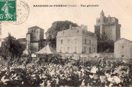 Bazoges En Pareds : Vue Générale - France