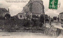 La Chaize Le Vicomte : Chevet De L'église St Nicolas - La Chaize Le Vicomte