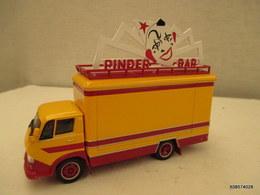 Voiture Miniature 1/64em  CORGI CIRQUE PINDER  Camion  CITROEN 450 N  Tres Bon Etat - Toy Memorabilia