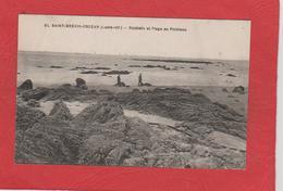 SAINT - BREVIN - L' OCEAN  Rochers Et Plage Au Pointeau                  44 - Saint-Brevin-l'Océan