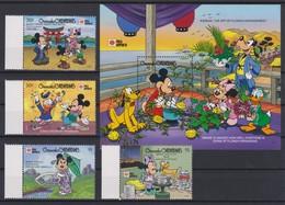 2294  WALT DISNEY   GRENADA GRENADINES  ( Phila Nippon '91 TOKYO II )  Mickey And Friends . - Disney